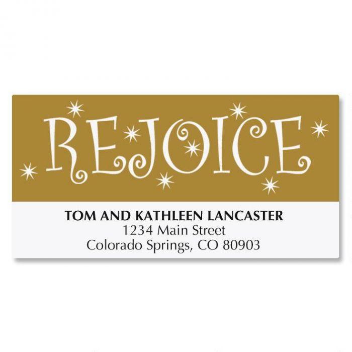 Rejoice Tree Address Labels
