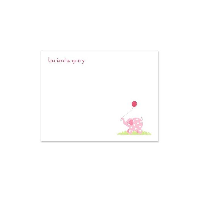 Pink Circus Flat Card