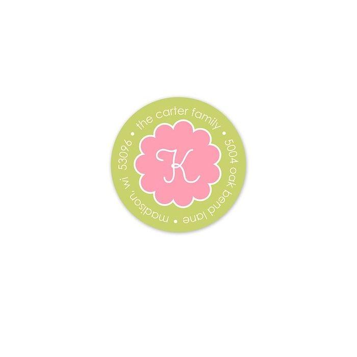Pink Truffle Address Label