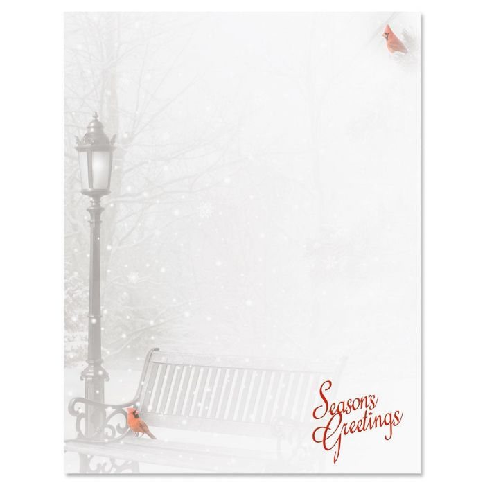 Snowfall Letter Papers