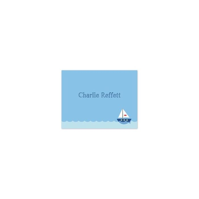 Sailboat Calling Card