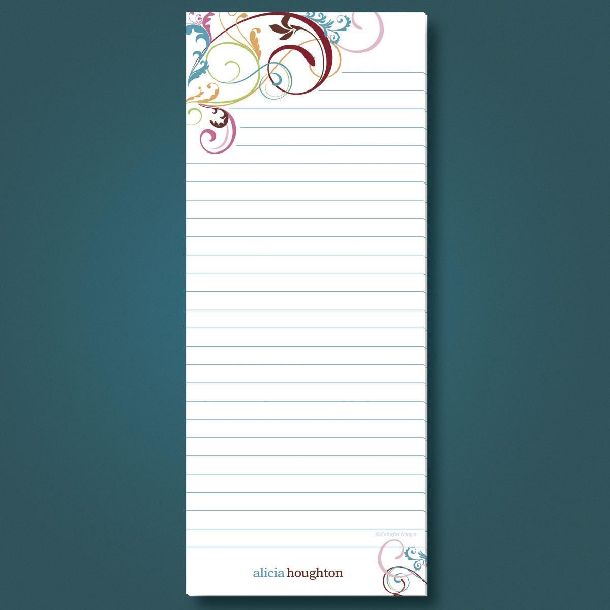 Fantasia List Pad