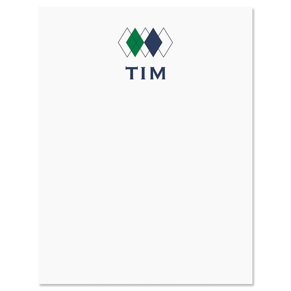 Top Diamond Note Cards