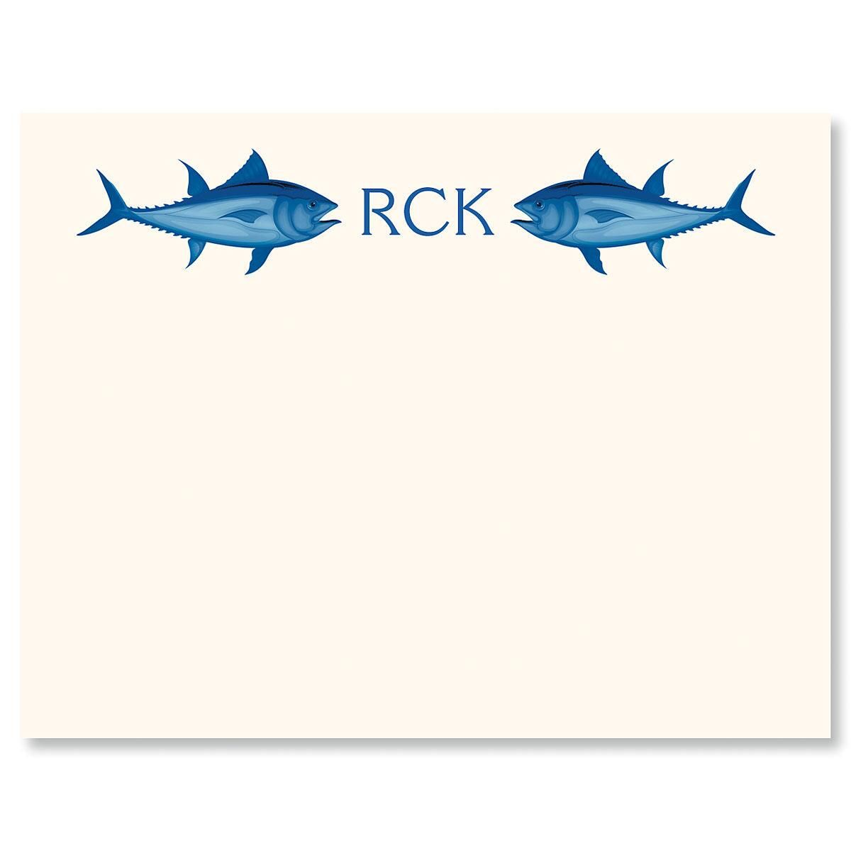 Fish Correspondence Cards