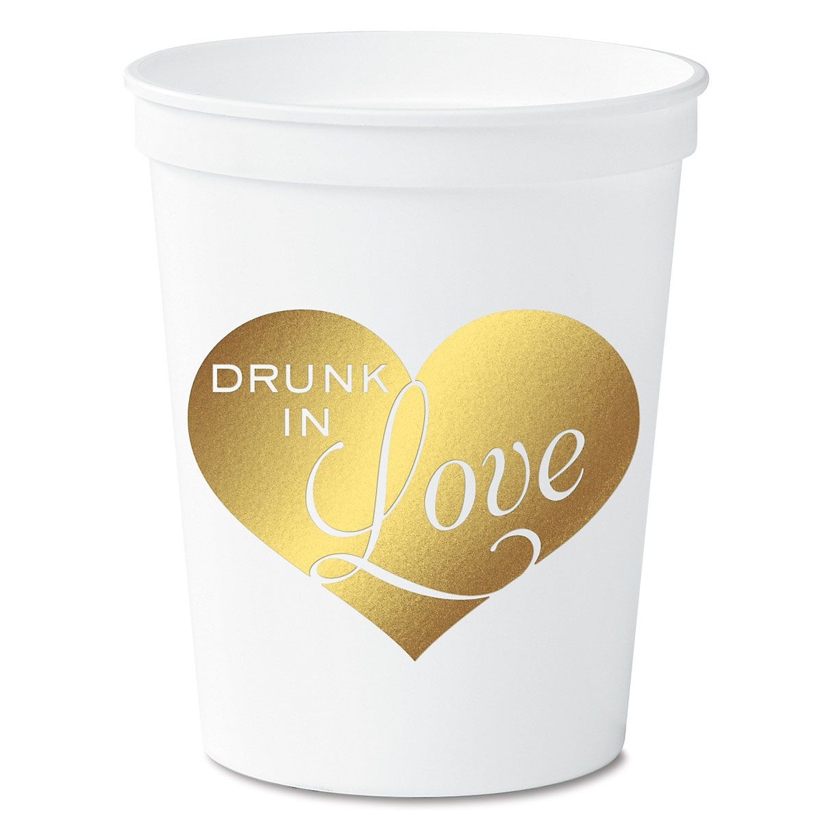 Drunk in Love White Cups