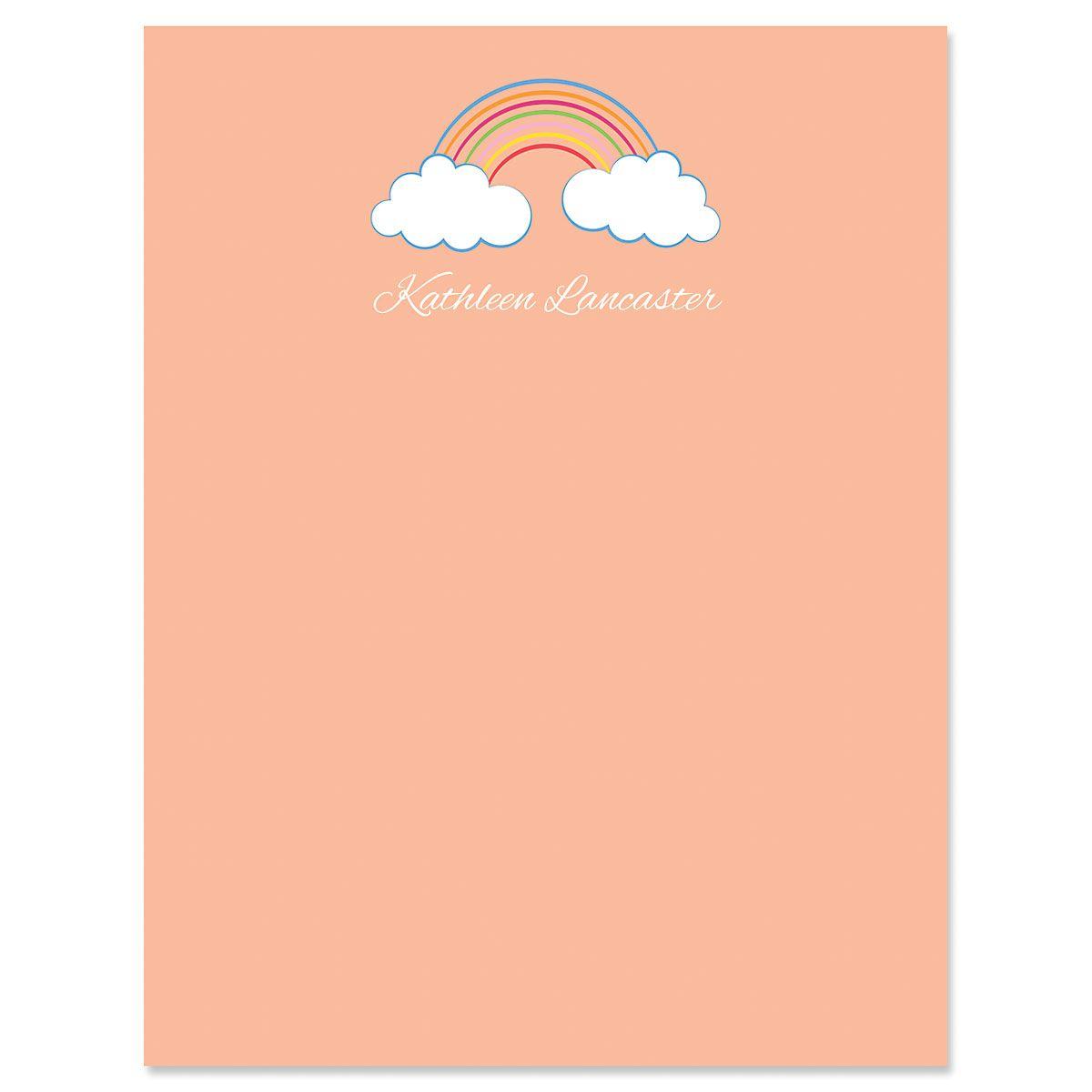 Rainbow Correspondence Cards