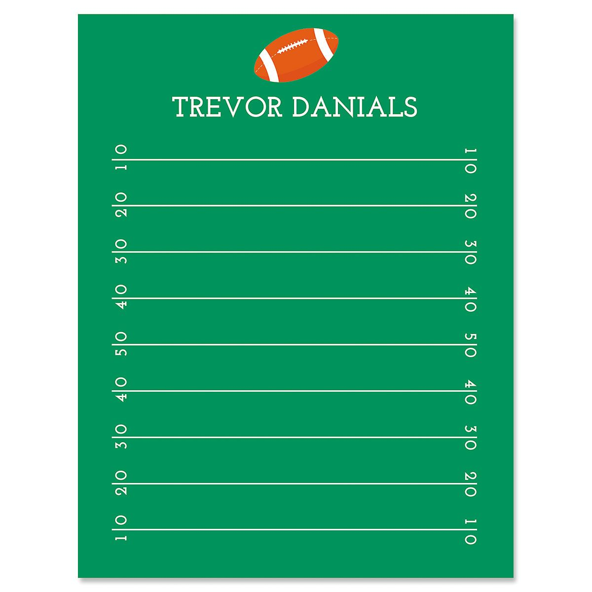Football Correspondence Cards