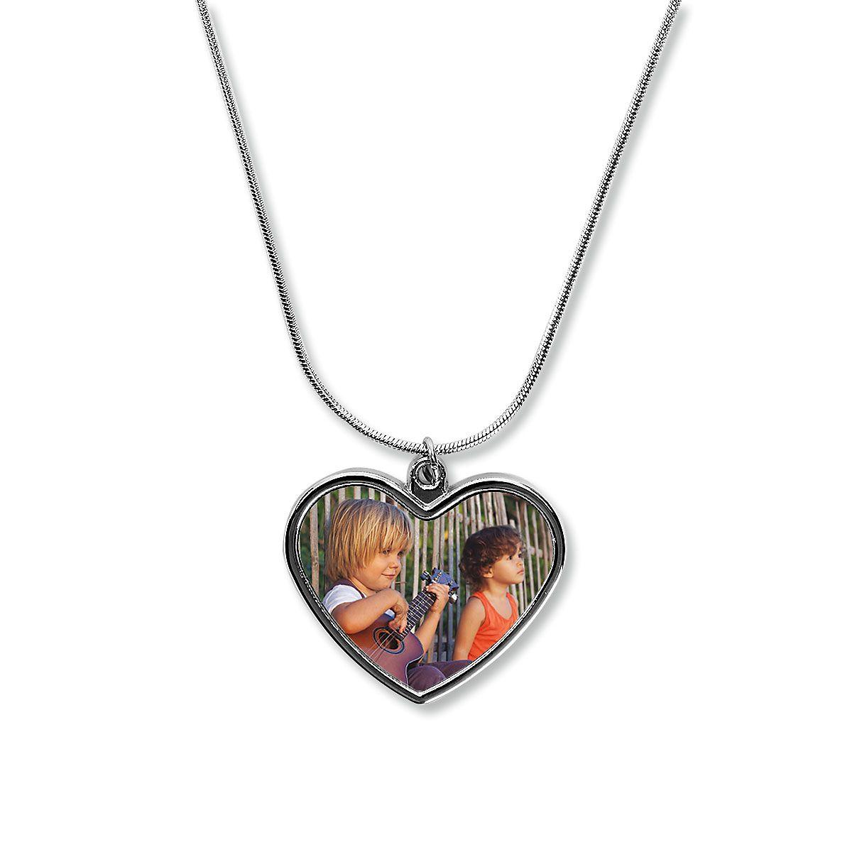 Heart Custom Photo Necklace