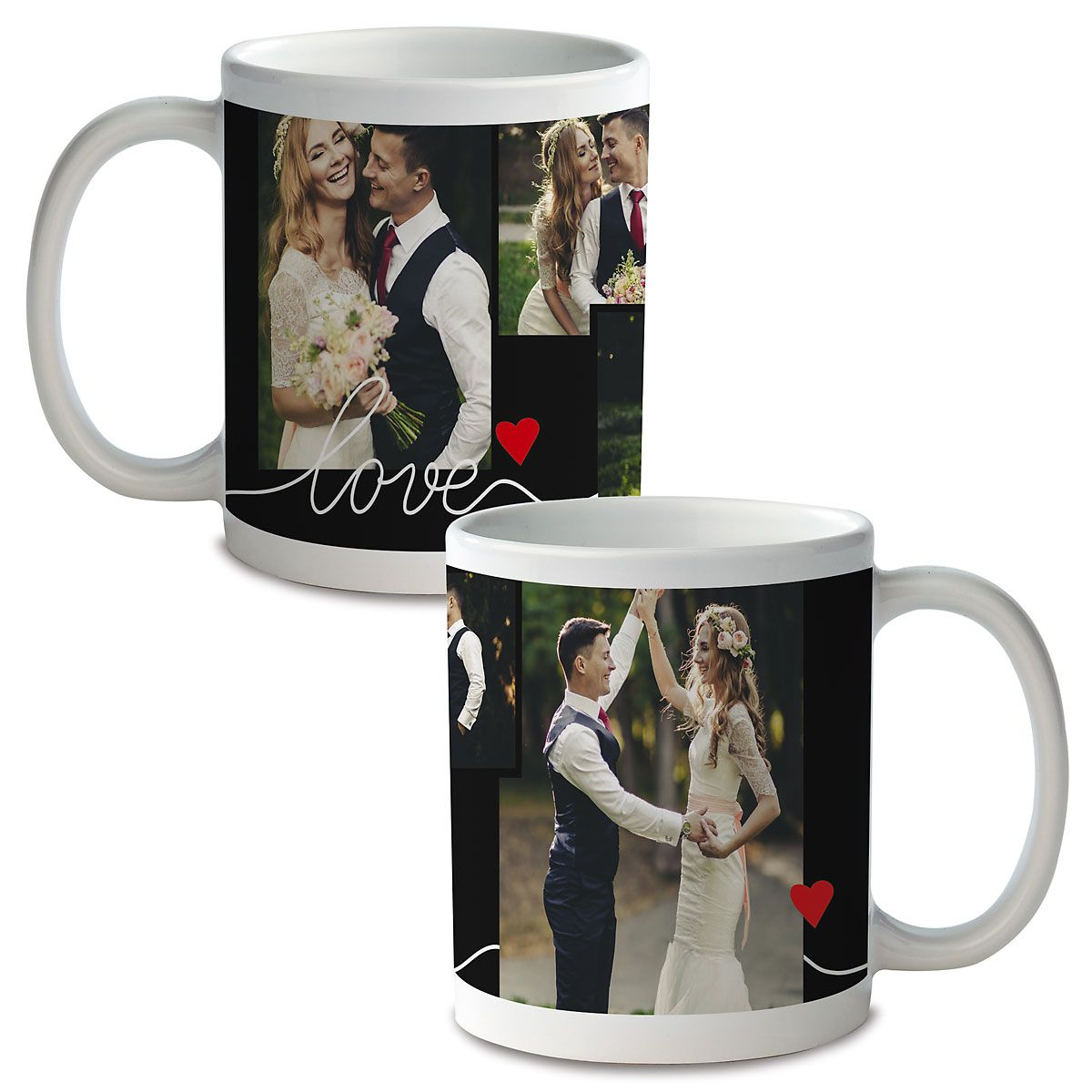 Love Custom Ceramic Photo Mug