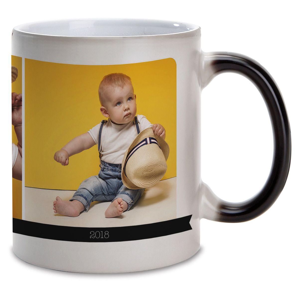 I Love Custom Ceramic Photo Mug