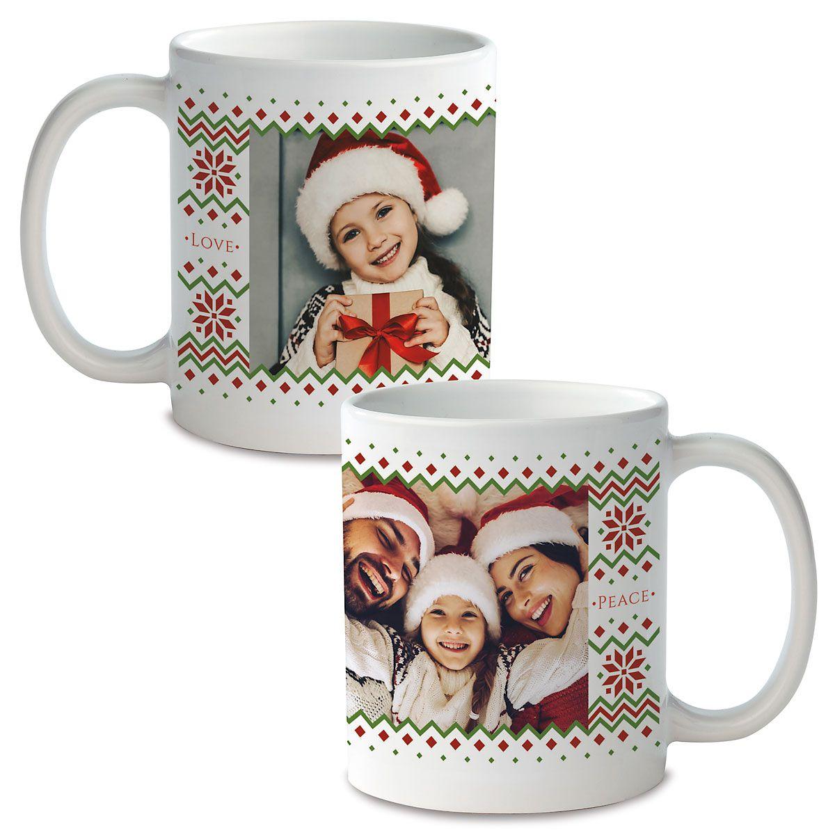Sweater Custom Ceramic Photo Mug