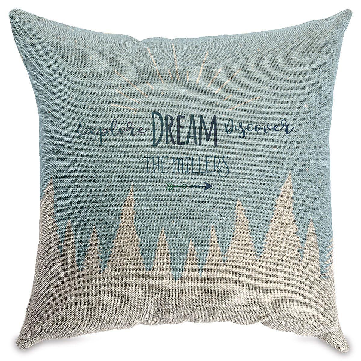 Explore Dream Customized Natural Pillow