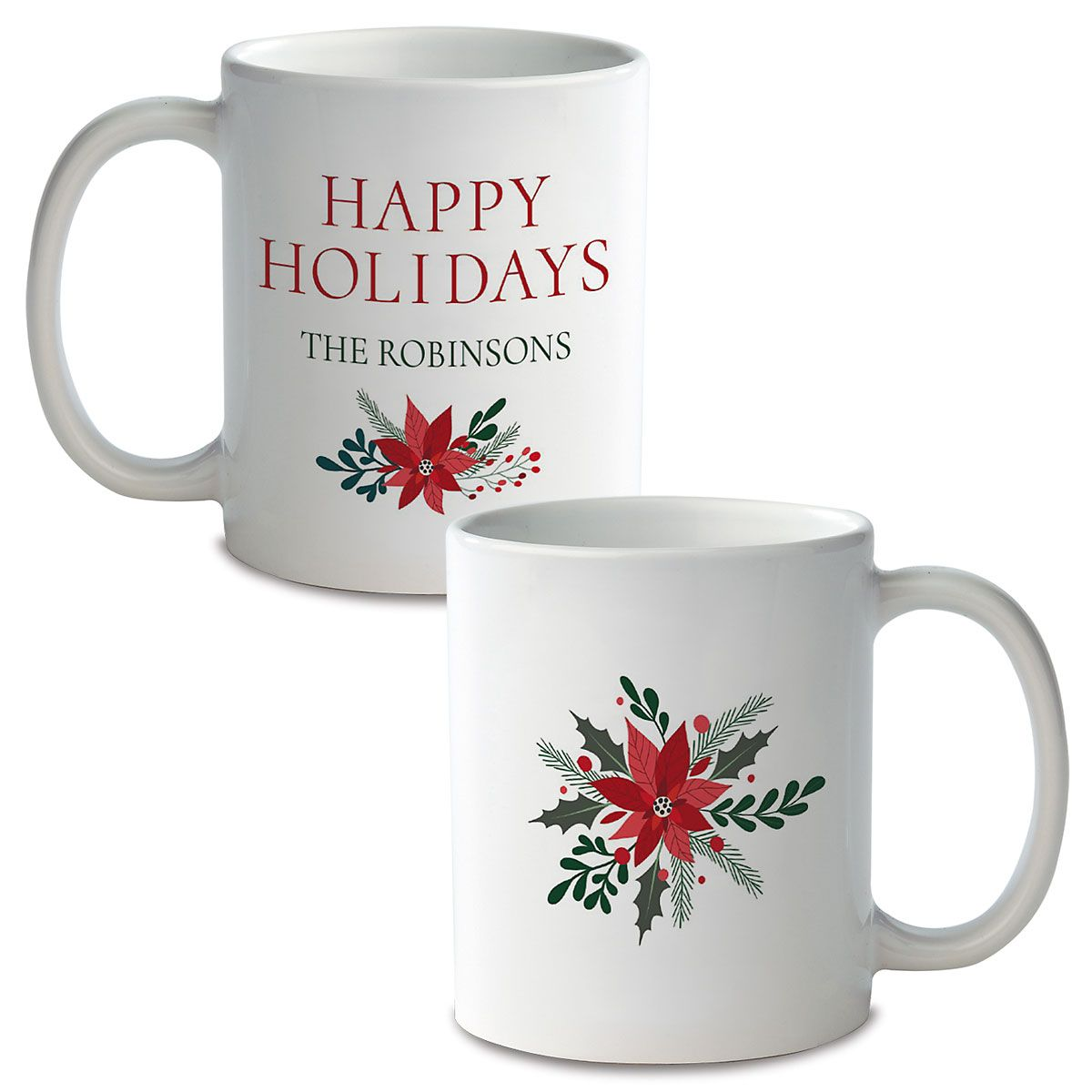 Holly Custom Ceramic Mug