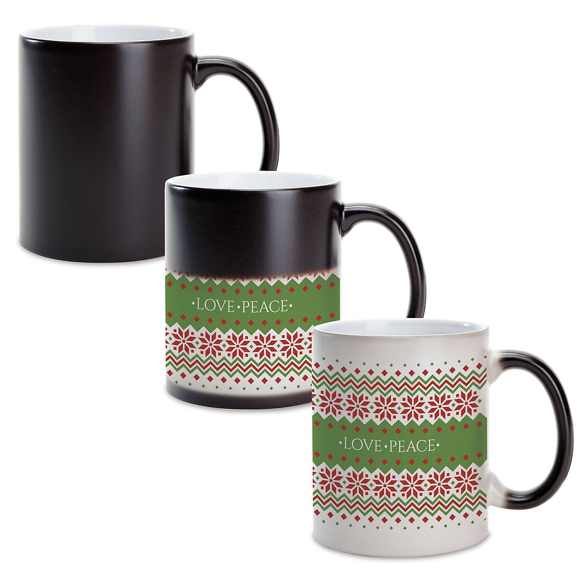 Sweater Pattern Custom Ceramic Mug