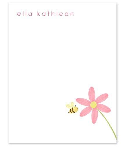 Bumbles Garden Flat Card