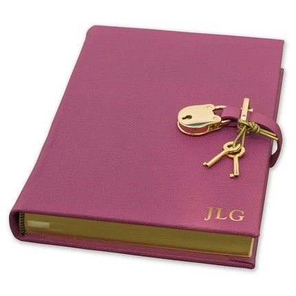 Pink Locked Diary