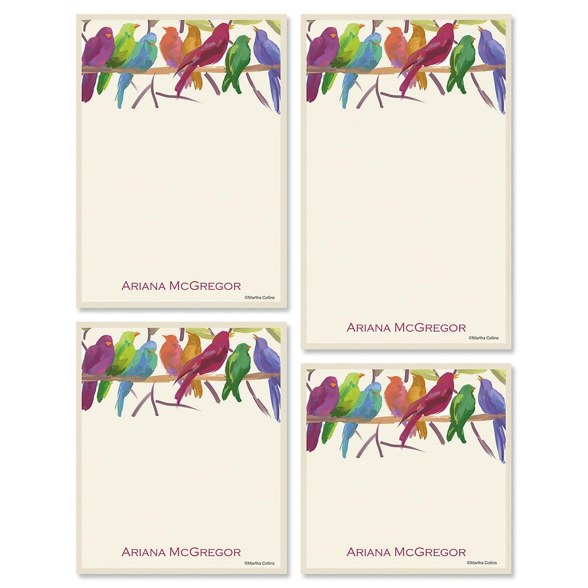 Flocked Together Note pad Set