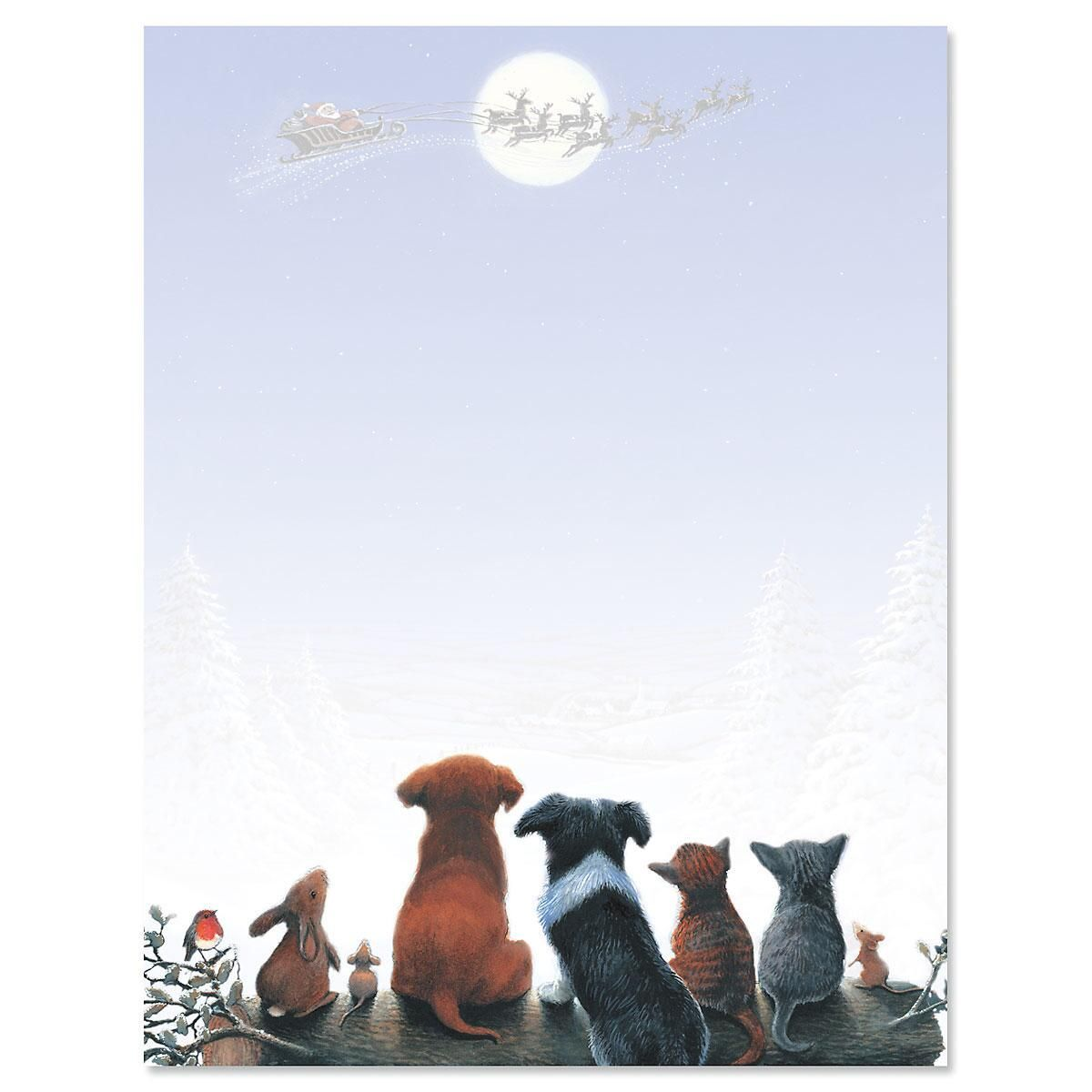 Christmas Dreams Letter Papers