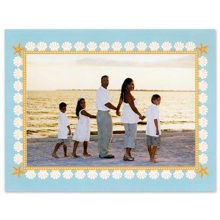 Seashell Photo Card
