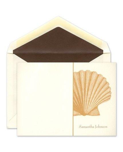 Shell Flat Card