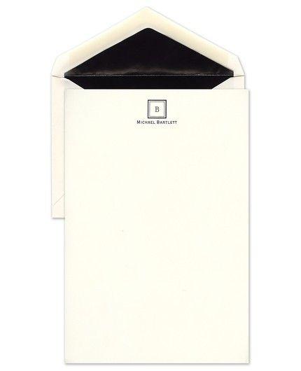 Monogram Letter Sheet
