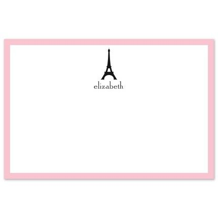 Eiffel Tower Flat Card