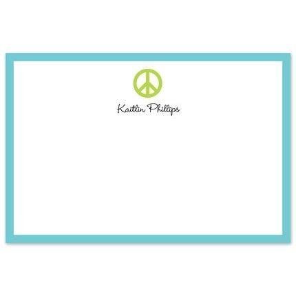 Peace Sign Flat Card