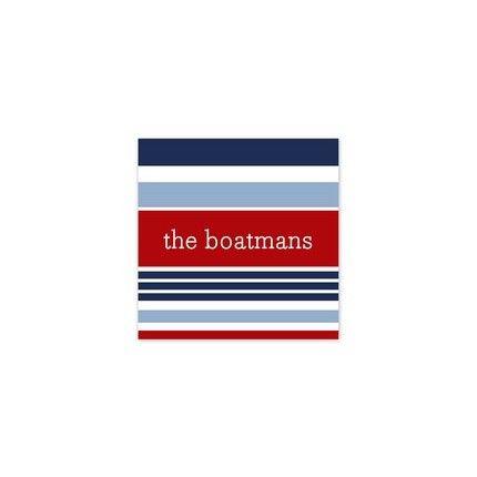 Espadrille Nautical Sticker