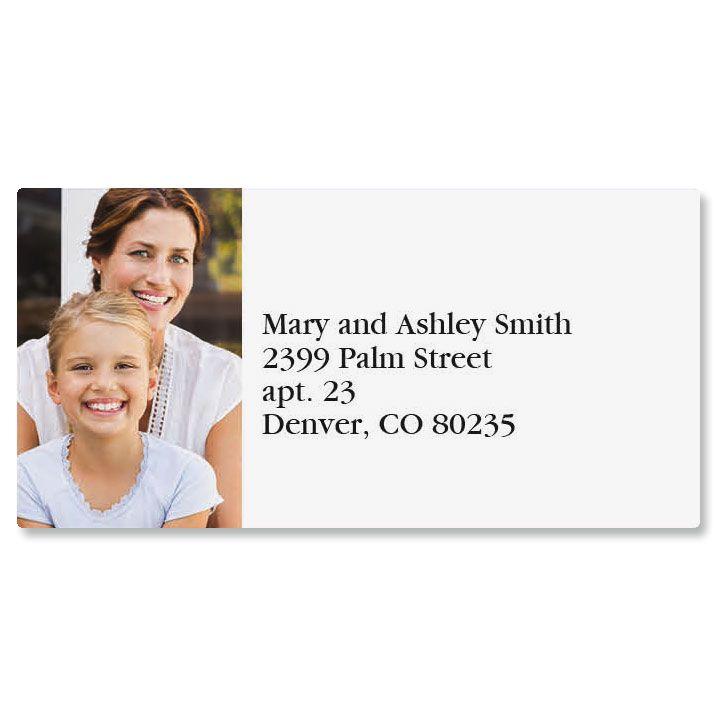 Direct Border Custom Photo Address Labels