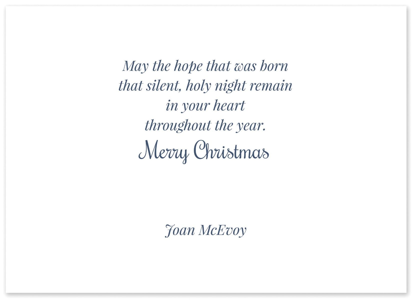 The Offertory Greeting Card