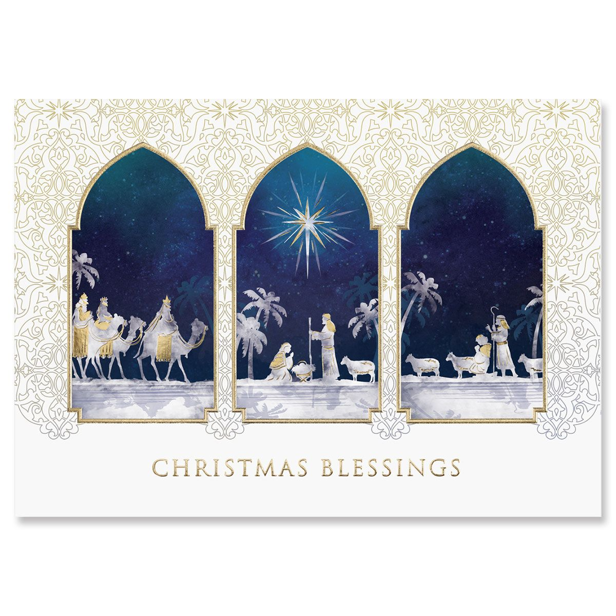 Blessings of Christmas Greeting Card