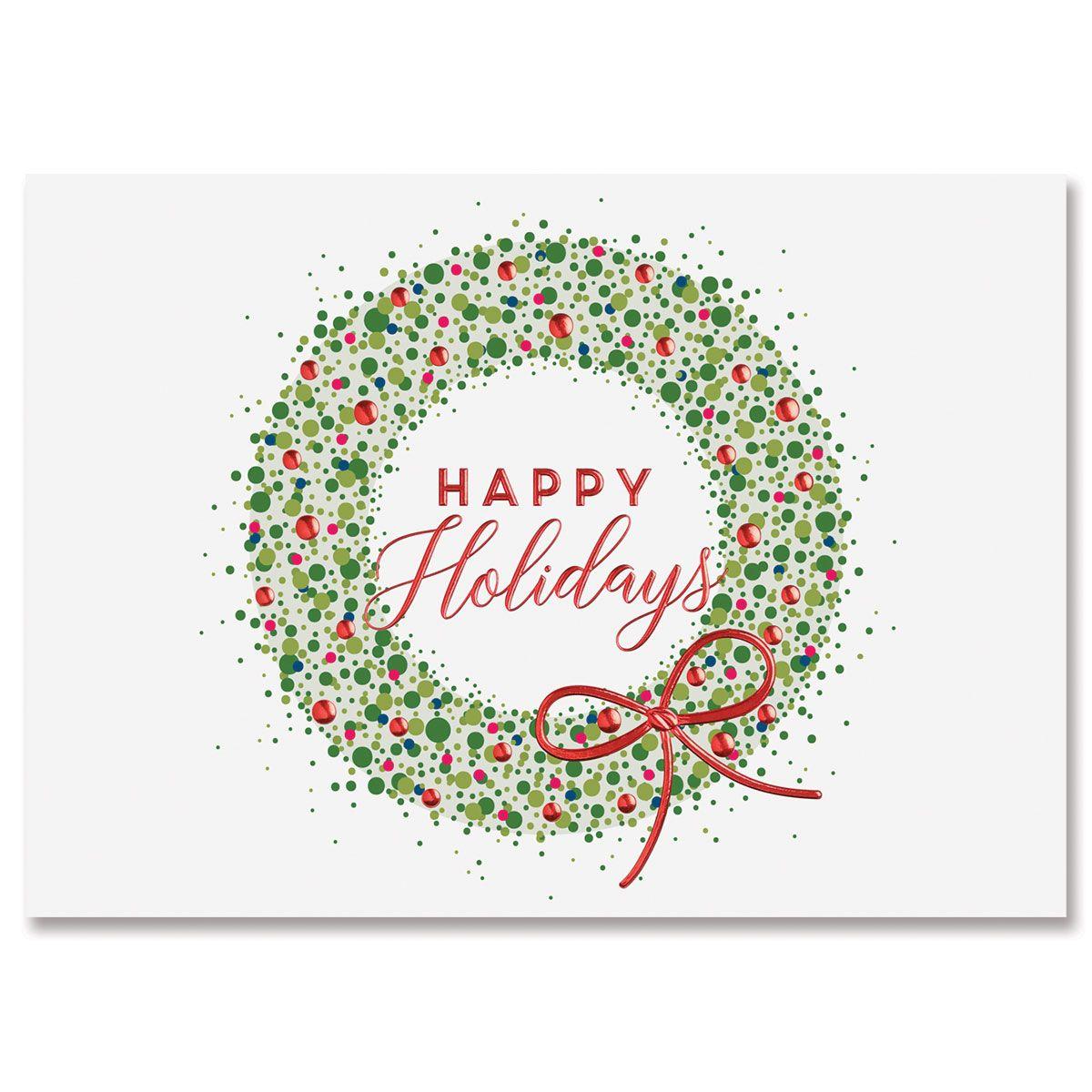 Delightful Wreath Greeting Card