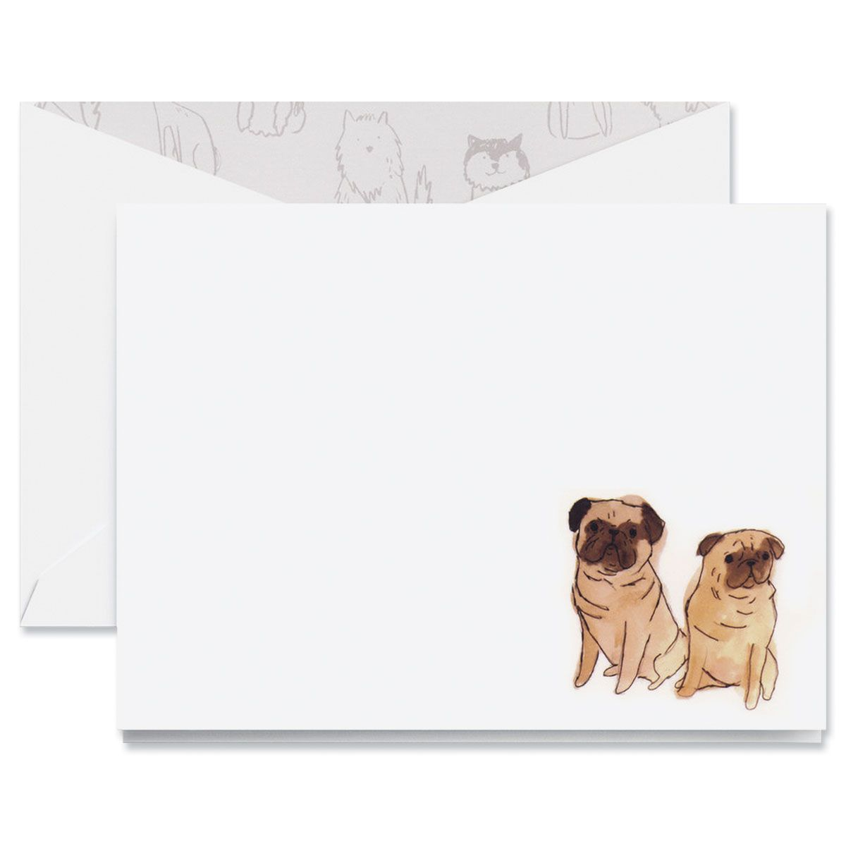 Pugs Note Cards Boxed Set