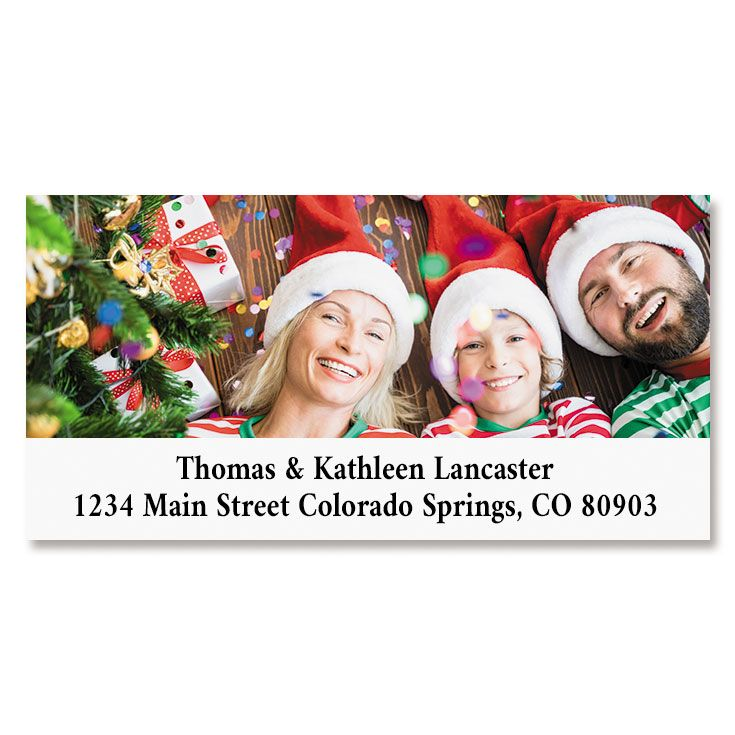 Direct Deluxe Custom Photo Address Labels