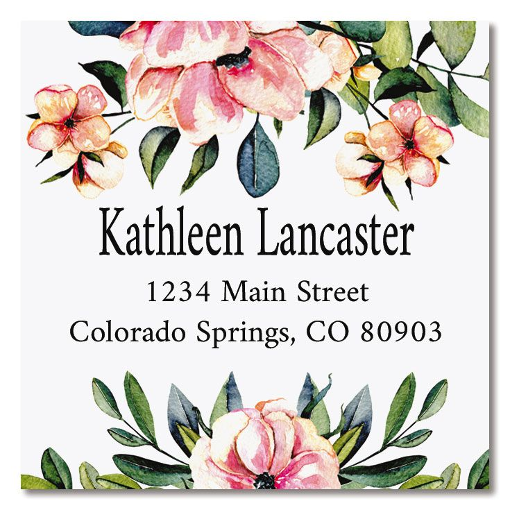 You're Special Large Square Custom Address Label