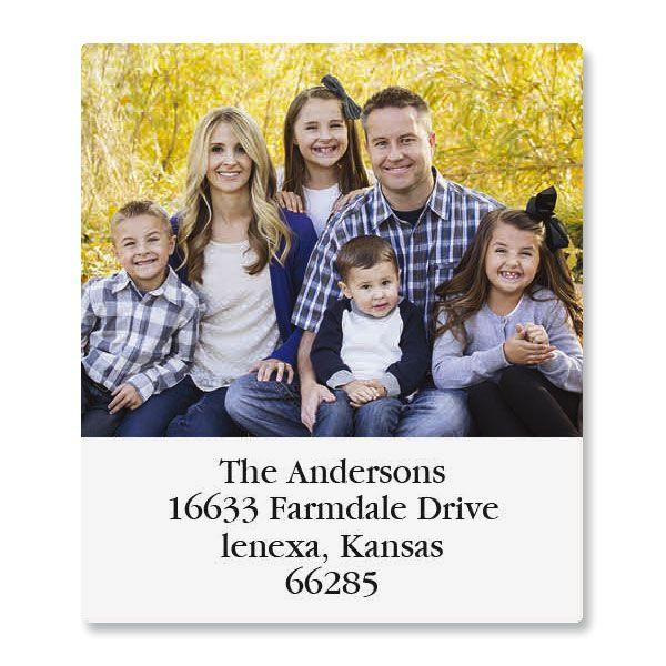 Select Photo Custom Address Labels