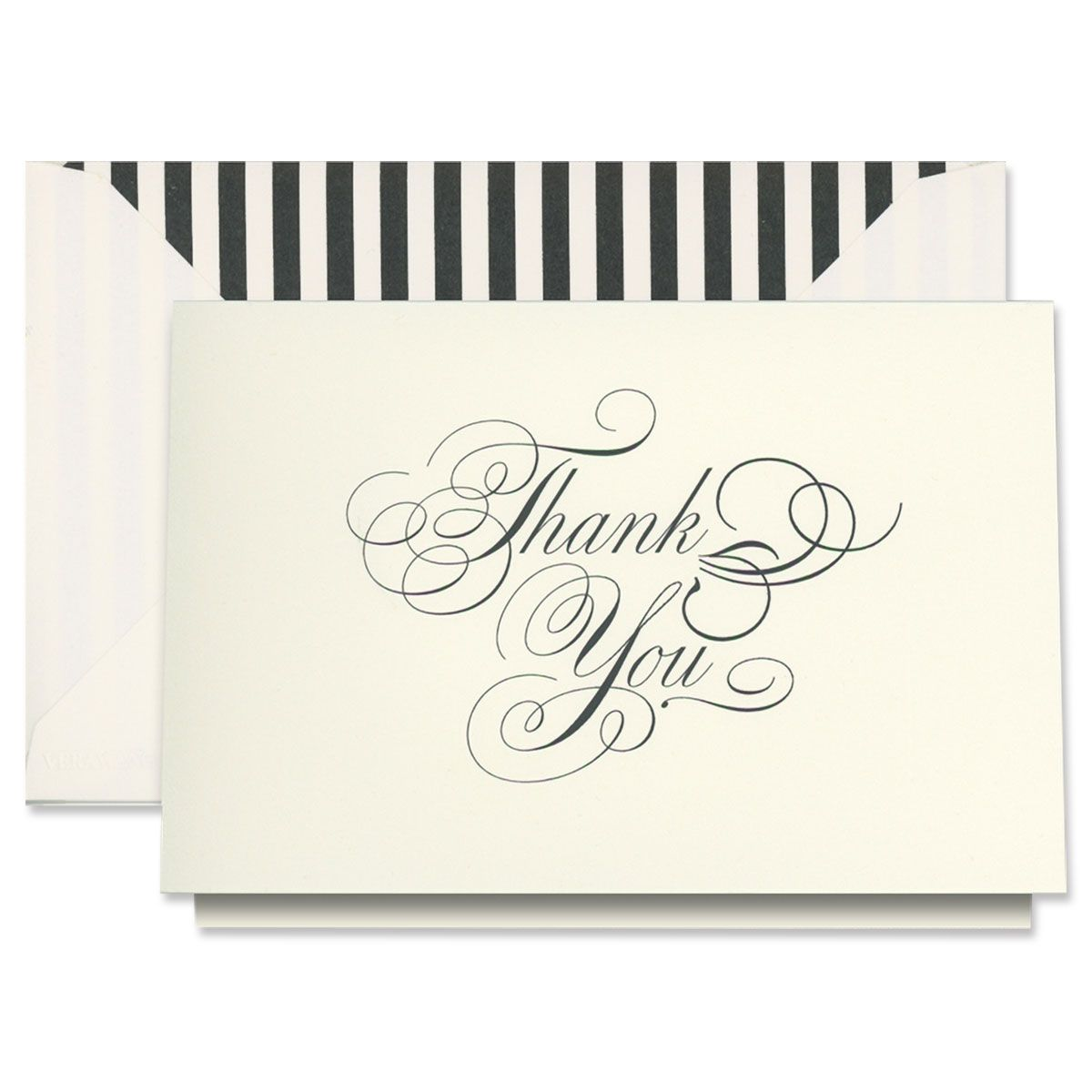 Vera Wang Black & White Thank You Cards Boxed Set