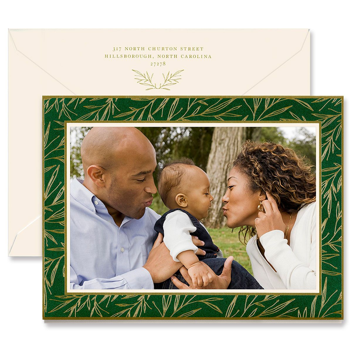 Emerald Hailey Mounted Photo Card
