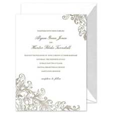 Shop Romantic Wedding Invitations at Fine Stationery