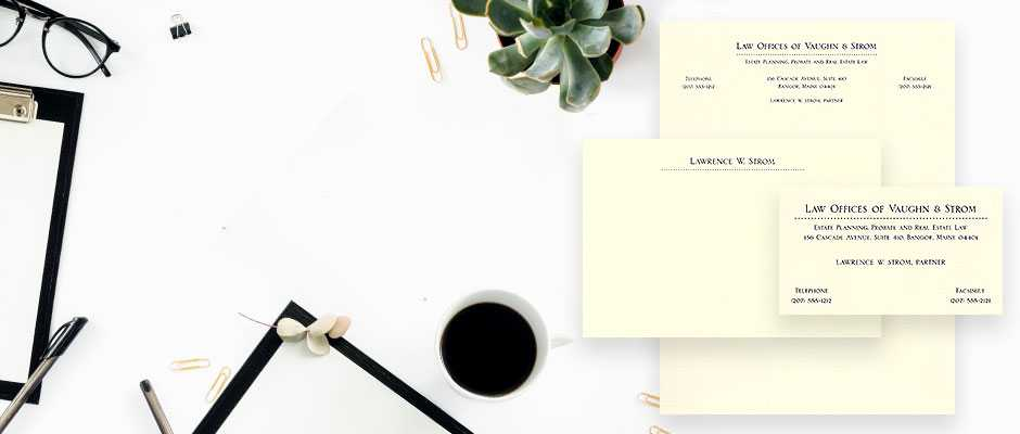 Shop Business Stationery at Fine Stationery