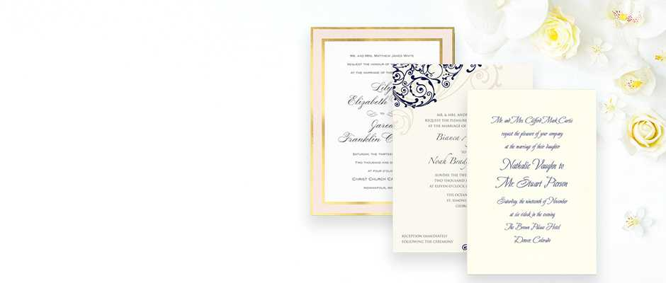 Fine Wedding Stationery Announcements